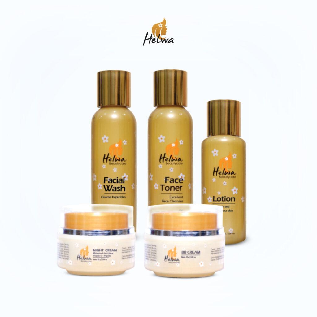 Helwa produk skincare terlaris.